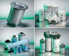 Filters oil-moistures separators