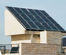 Central Installations of Solar Collectors