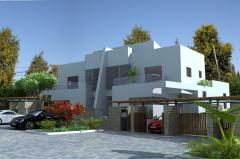 עיצוב אדריכלי של וילות וקוטג'ים